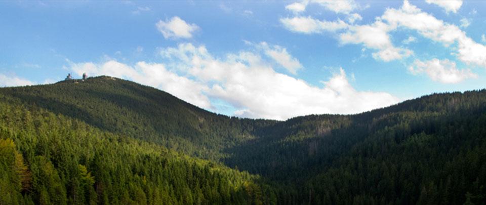 Berge im Bayerischen Wald