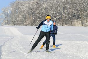 Langlaufen und Skifahren im Bayerischen Wald