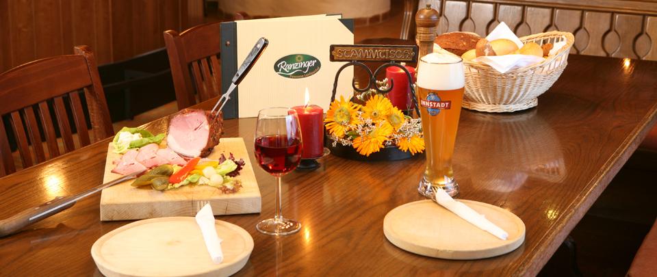 Saisonale und kulinarische Aktionen im Landgasthofes Ranzinger