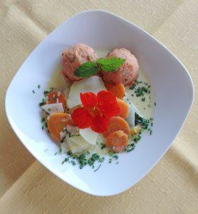 Vegane Speisen im Hotel Ranzinger