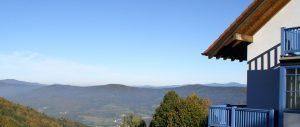 Panorama Landgasthof Ranzinger Bayerischer Wald | Ausblick auf den Bayerischen Wald